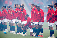 British Lions Tour to South Africa - Pre-tour international - Vodafone Lions Cup 1888 - British Lions vs Japan - Murrayfield<br /> <br /> Kyle Sinkler takes the knee<br /> <br /> Credit COLORSPORT/Lynne Cameron