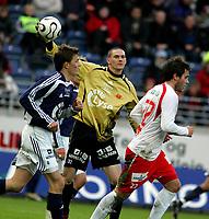 Fotball Tippeliga<br /> Viking Stadion 17/03-06<br /> Viking - Fredrikstad<br /> <br /> Foto: Sigbjørn Andreas Hofsmo, Digitalsport<br /> <br /> Anthony Basso Viking