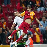 Galatasaray's Sabri SARIOGLU (F) during their Turkish Super League soccer match Galatasaray between Eskisehirspor at the TT Arena at Seyrantepe in Istanbul Turkey on Monday, 26 September 2011. Photo by TURKPIX