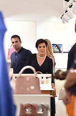 Kris Jenner looking angry - 11 March 2019