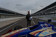 April 1, 2016; Indianapolis, Ind.; Head coach Ryan McCarthy poses for a photo at the Women's Final Four Salute at the Indianapolis Motor Speedway.