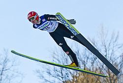 05.02.2011, Heini Klopfer Skiflugschanze, Oberstdorf, GER, FIS World Cup, Ski Jumping, Probedurchgang, im Bild Michael Uhrmann (GER) , during ski jump at the ski jumping world cup Trail round in Oberstdorf, Germany on 05/02/2011, EXPA Pictures © 2011, PhotoCredit: EXPA/ P. Rinderer