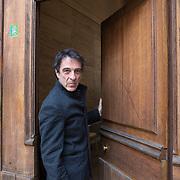 Piccolo Teatro Grassi, Milano, Italia, 29 Marzo 2021. Gianni Gangai, 64 anni, tecnico scenografico.
