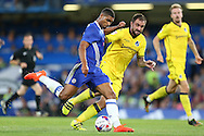 Ruben Loftus-Cheek of Chelsea in action.  EFL Cup 2nd round match, Chelsea v Bristol Rovers at Stamford Bridge in London on Tuesday 23rd August 2016.<br /> pic by John Patrick Fletcher, Andrew Orchard sports photography.