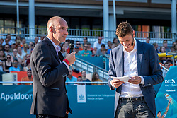 15-07-2018 NED: CEV DELA Beach Volleyball European Championship day 1<br /> Start of the DELA EC Beach Volleyball 2018 / Bas van de Goor, Richard Schuil