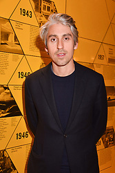 George Lamb at the Range Rover Velar Global Reveal at The Design Museum, London England. 1 March 2017.