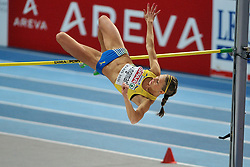 06-03-2011 ATHELETICS: EUROPEAN ATHLETICS INDOOR CHAMPIONSHIPS: PARIS<br /> European Athletics Indoor Championships Paris / JUNGMARK Ebba SWE<br /> © Ronald Hoogendoorn Photography
