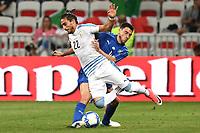 Nice (Francia) 07-06-2017 Stadio Allianz Riviera Friendly match Italia - Uruguay / Italy - Uruguay foto Image Sport/Insidefoto<br /> nella foto: Martin Caceres-Matteo Darmian