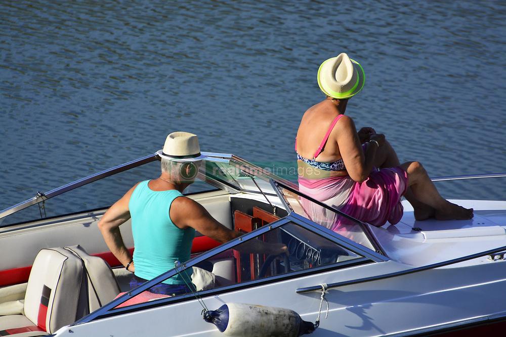 August 3, 2017 - Osijek, Croatia - Daily life in the city on the river Drava on 03 Aug 2017. Osijek,Croatia  (Credit Image: © Alen Gurovic/NurPhoto via ZUMA Press)
