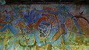 Mural, painting, Lunaganga, Bentota, Sri Lanka