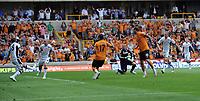 Wolverhampton Wanderers/Fulham Premier League 21.08.11<br />Photo: Tim Parker Fotosports International<br />Matt Jarvis Wolves scores 2nd goal