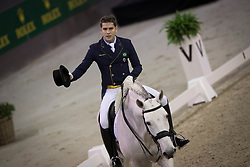 Oliva Joao Victor, (BRA), Xama Dos Pinhais<br /> Indoor Brabant - Den Bosch 2017<br /> © Hippo Foto - Dirk Caremans<br /> 10/03/2017