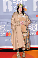 The 40th BRIT Awards show  Tuesday 18th February at The O2 Arena in London.<br />Billie Eilish,