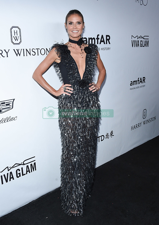 October 13, 2017 Beverly Hills, CA Patrick Starrr amfAR Gala Los Angeles honors Julia Roberts at their eighth annual benefit for AIDS research held at Green Acres Estate. 13 Oct 2017 Pictured: Heidi Klum. Photo credit: O'Connor/AFF-USA.com / MEGA TheMegaAgency.com +1 888 505 6342