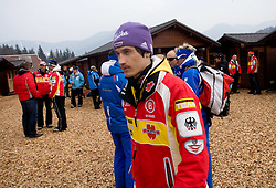 SCHMITT Martin, SC Furtwangen, GER at warming up area before Flying Hill Individual Trial Round at 3rd day of FIS Ski Flying World Championships Planica 2010, on March 20, 2010, Planica, Slovenia.  (Photo by Vid Ponikvar / Sportida)