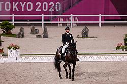 TOKYO - Olympische Spiele / Olympic Games 2021<br /> <br /> MICHIELS Domien (BEL), Intermezzo van het Meerdaalhof<br /> Grand Prix de Dressage<br /> <br /> Tokio, Equestrian Park<br /> 25. July 2021<br /> © www.sportfotos-lafrentz.de/Stefan Lafrentz