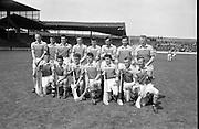 Senior Hurling at Croke Park, Wexford v Laois. Wexford Team..08.07.1962
