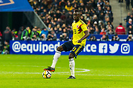 Davinson Sanchez (col) during the International Friendly Game football match between France and Colombia on march 23, 2018 at Stade de France in Saint-Denis, France - Photo Pierre Charlier / ProSportsImages / DPPI
