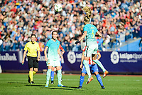 FC Barcelona Line Roddick and Marta Unzue during match of La Liga Femenina between Atletico de Madrid and FC Barcelona at Vicente Calderon Stadium in Madrid, Spain. December 11, 2016. (ALTERPHOTOS/BorjaB.Hojas)