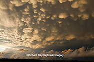 63891-02413 Mammatus clouds after storm,  Marion Co. IL