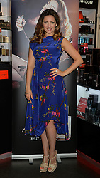 Model Kelly Brook launches her new fragrance at The Perfume Shop on Oxford Street, London, UK. Monday, 17th March 2014. Picture by Ben Stevens / i-Images
