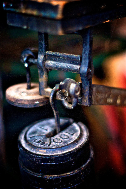Antique Weight Scale General Store