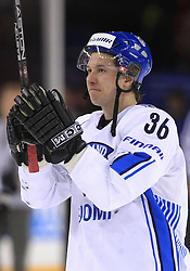 Jussi Jokinen of Finland at ice-hockey match Finland vs USA at Qualifying round Group F of IIHF WC 2008 in Halifax, on May 11, 2008 in Metro Center, Halifax, Nova Scotia, Canada. (Photo by Vid Ponikvar / Sportal Images)