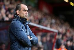 Everton Manager Roberto Martinez - Mandatory by-line: Jason Brown/JMP - Mobile 07966 386802 28/11/2015 - SPORT - FOOTBALL - Bournemouth, Vitality Stadium - AFC Bournemouth v Everton - Barclays Premier League