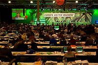 29 NOV 2003, DRESDEN/GERMANY:<br /> Uebersicht 22. Ordentliche Bundesdelegiertenkonferenz Buendnis 90 / Die Gruenen, Messe Dresden<br /> IMAGE: 20031129-01-064<br /> KEYWORDS: Bündnis 90 / Die Grünen, BDK, Saal, Übersicht<br /> Parteitag, party congress, Bundesparteitag