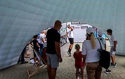 PORTOROZ, SLOVENIA - SEPTEMBER 18:  WTA 250 Zavarovalnica Sava Portoroz at SRC Marina, on September 18, 2021 in Portoroz / Portorose, Slovenia. Photo by Vid Ponikvar / Sportida