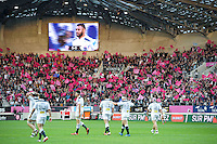 Supporters Stade Francais / Illustration Stade Jean Bouin - 29.05.2015 - Stade Francais / Racing Metro - Barrages Top 14<br />Photo : Andre Ferreira / Icon Sport