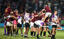 Cape Town-180416  University of Stellenbosch are the Varsity Cup champions of 2018  after beating NWU Pakke  at the Dani Craven stadium in Sellenbosch .photographer:Phando Jikelo/African News Agency/ANA