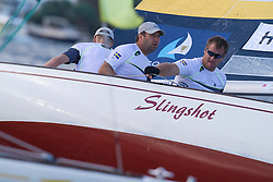 Bjorn Hansen during repechage of the Argo Group Gold Cup 2010. Hamilton, Bermuda. 8 October 2010. Photo: Subzero Images/WMRT