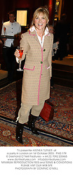 TV presenter ANTHEA TURNER  at a party in London on 1st October 2003.  PNG 179