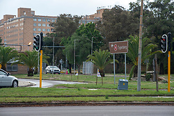 Tygerberg Hospital, in Cape Town, where many health workers have tested positive for COVID-19, and several nurses have died. The Western Cape currently has the highest number of coronavirus infections and deaths in the country. PHOTO: EVA-LOTTA JANSSON