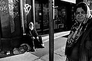 Homeless nel centro di Roma.<br /> Roma 2 febbraio  2015 . Daniele Stefanini /  OneShot