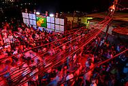 "Baile Funk in the favela Morro dos Prazeres, in the borough of  Santa Teresa. During the filmimg of ""Favela on Blast"". || Baile Funk dans la favela du Morro dos Prazeres, dans le quartier de Santa Teresa. Tournage du film ""Favela on Blast""."
