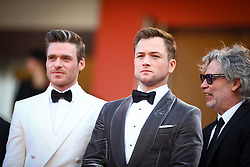 Taron Egerton, Richard Madden attend the screening of Rocketman during the 72nd annual Cannes Film Festival on May 16, 2019 in Cannes, France Photo by Shootpix/ABACAPRESS.COM