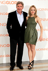 13.01.2011, Hotel Villamagna, Madrid, ESP, Photocall, Morning Glory, im Bild // Harrison Ford and Rachel McAdams // during photocall for the movie Morning Glory, at the Hotel Villamagna in Madrid, Spain. EXPA Pictures © 2011, PhotoCredit: EXPA/ Alterphotos +++++ ATTENTION - OUT OF SPAIN/ESP +++++