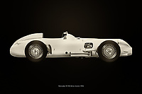 The 1954 Mercedes W196 Silver Arrow was the spearhead of Mercedes on the race track in the mid 1950's. Famous autopilots drove legendary races with this Mercedes W196 Silver Arrow. The technology introduced in this Mercedes has been adopted by many. The 1954 Mercedes W196 Silver Arrow is without a doubt one of the most important Mercedes cars ever.<br />