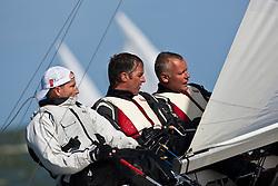 Medemblik, the Netherlands, September 8th 2009. Gaastra Dragon worlds 2009. Day 4, race 6 and 7. © Sander van der Borch