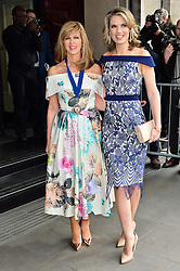 © Licensed to London News Pictures. 08/03/2016.  KATE GARRAWAY and CHARLOTTE HAWKINS arrive for the TRIC Awards. The Television and Radio Industries Club's annual awards ceremony, honour's the best performers and programmes  of the last year .London, UK. Photo credit: Ray Tang/LNP