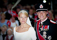 Archive pictures Wedding Crown Prince Haakon and Crown Princess Mette-Marit