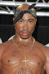 Sep 19, 2006; London, England, UK; TUPAC SHAKUR wax likeness, which is on display at Madame Tussauds in London, marking the 10th anniversary of the star's death. The wax work is on loan from Madame Tussaud's in Las Vegas, the city where the rapper was killed. Mandatory Credit: Photo by Axel/ZUMA Press. (©) Copyright 2006 by Axel