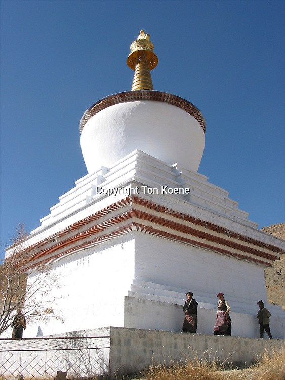 stupa of Gyantse and palkor chode monastry, tibet