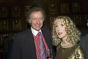 RICHARD AND BASIA BRIGGS, CAROLE STONE PARTY.Middle Temple Hall. Middle Temple Lane. London EC4. -DO NOT ARCHIVE-© Copyright Photograph by Dafydd Jones. 248 Clapham Rd. London SW9 0PZ. Tel 0207 820 0771. www.dafjones.com.