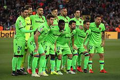 Barcelona v Levante 27 April 2019