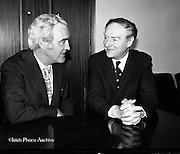 Liam Cosgrave Meets Brendan Corish.<br />