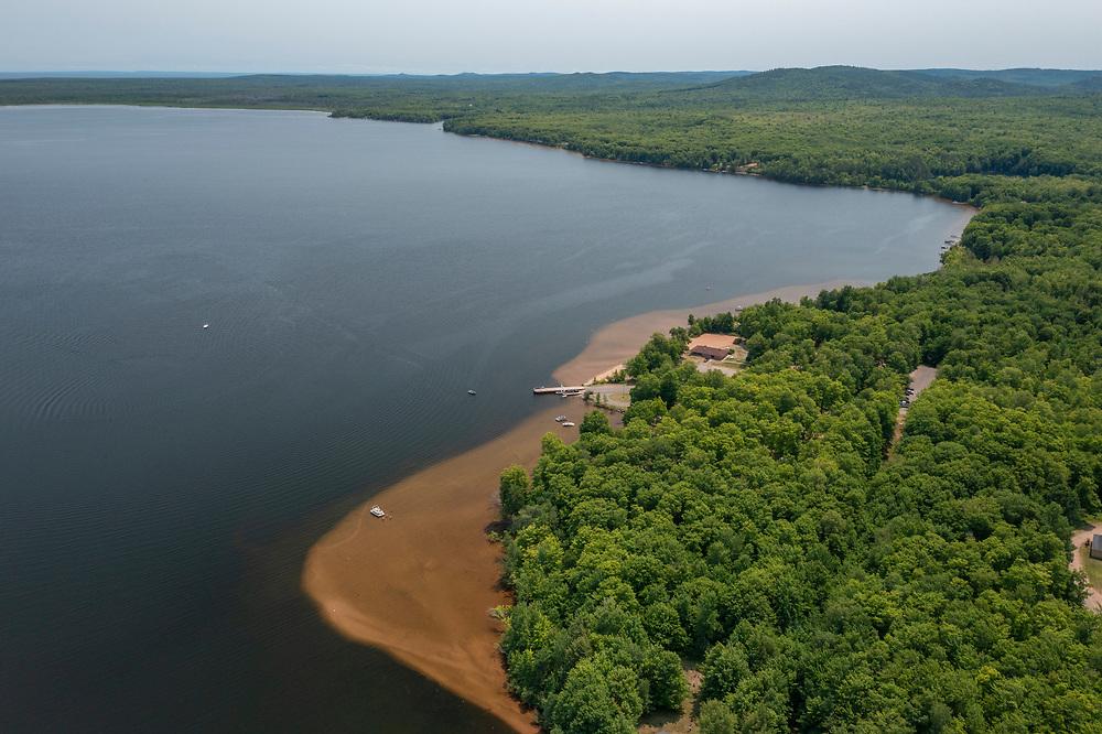 Lake Independence at Big Bay, Michigan.