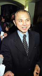 Shoe designer JIMMY CHOO at a fashion show in London on 1st March 2000.<br /> OBT 31